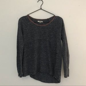 Madewell long sleeve burnout